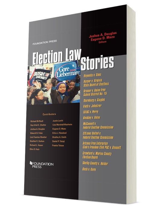 Election Law Stories book cover